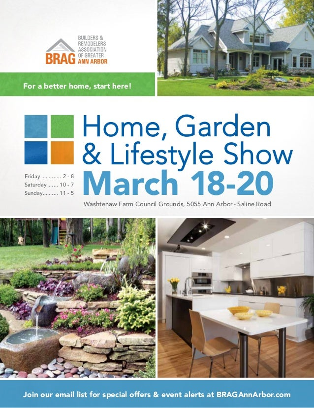 Home garden lifestyle show program 2016 Colorado home and garden show