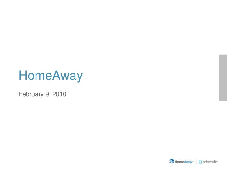 HomeAway Pitch 2010