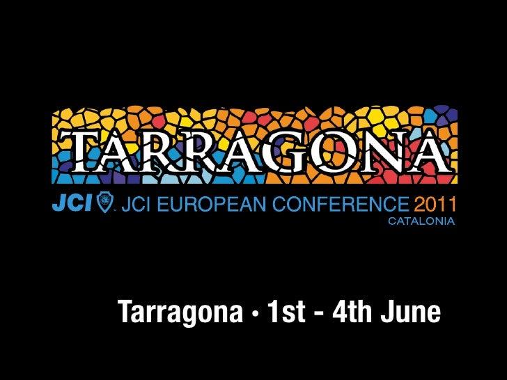 Tarragona · 1st - 4th June