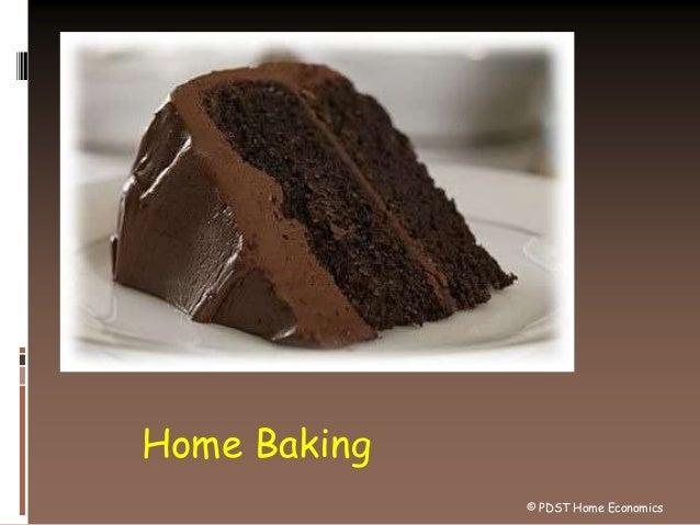 Home Baking © PDST Home Economics