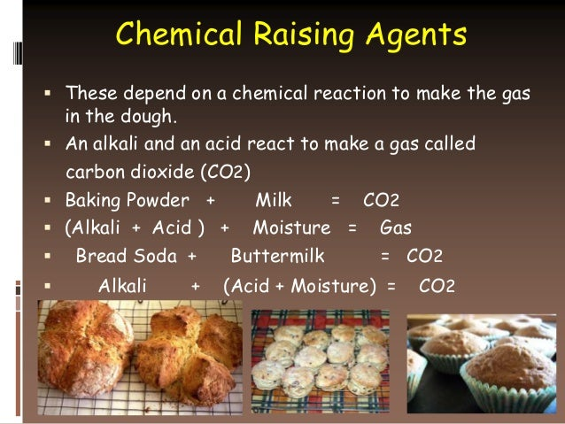 Chemical Reaction Is Baking A Cake
