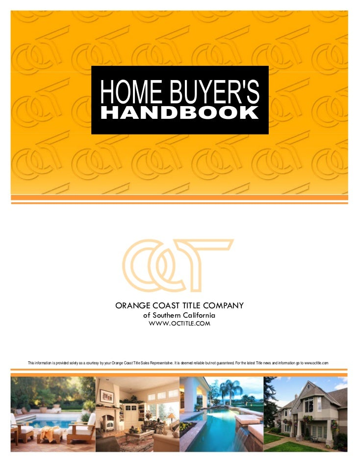 Home Buyers' Handbook