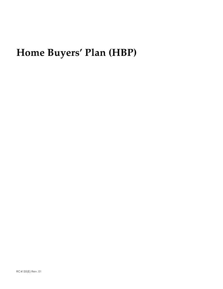 Home Buyers' Plan (HBP)     5&(