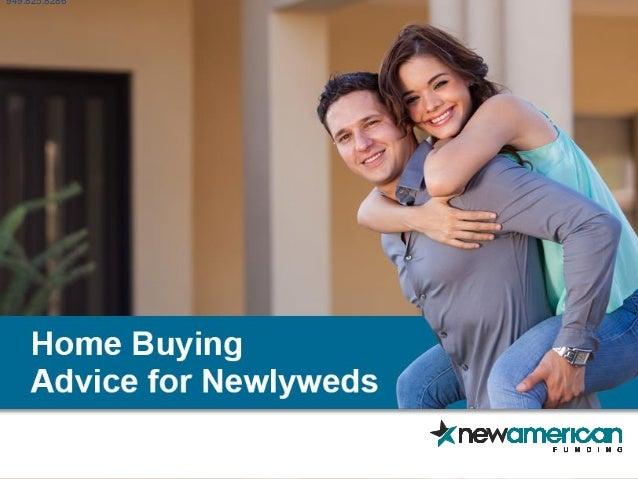 Homebuying Advice for Newlyweds | New American Funding