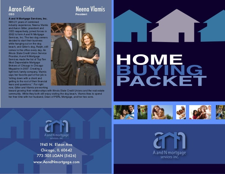 A and N Mortgage\'s Home Buying Packet