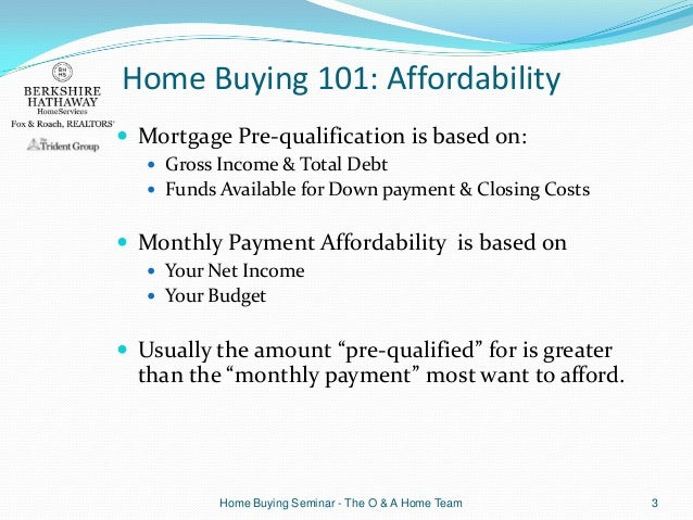 home buying 101 ignorance can cost you