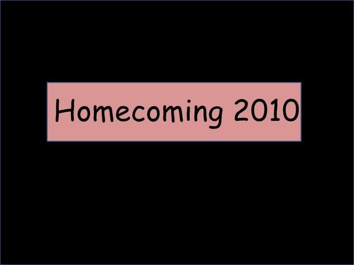 Homecoming 2010<br />