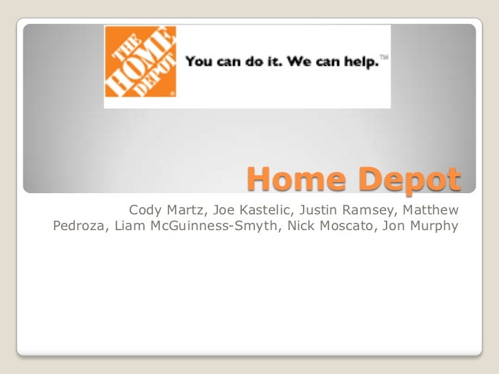 Home Depot<br />Cody Martz, Joe Kastelic, Justin Ramsey, Matthew Pedroza, Liam McGuinness-Smyth, Nick Moscato, Jon Murphy<...