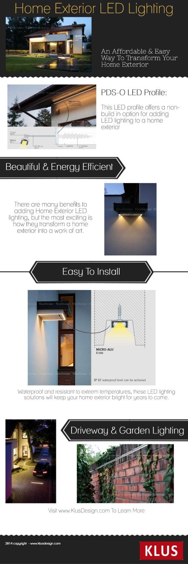 Home Exterior LED Lighting