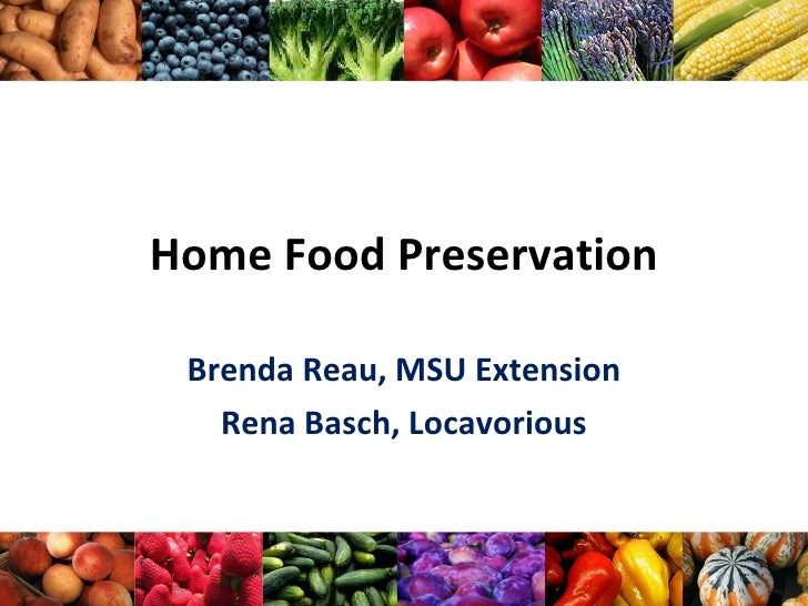 Home Food Preservation Fsep V2 Ppt97