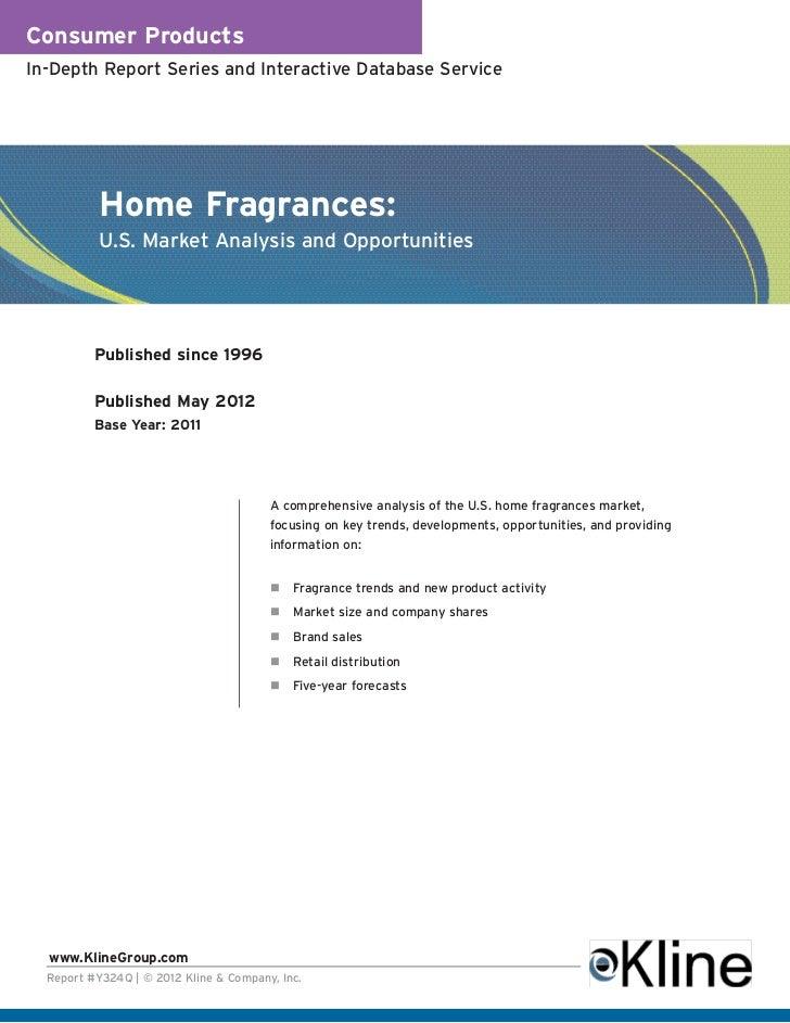 Home Fragrances - Brochure
