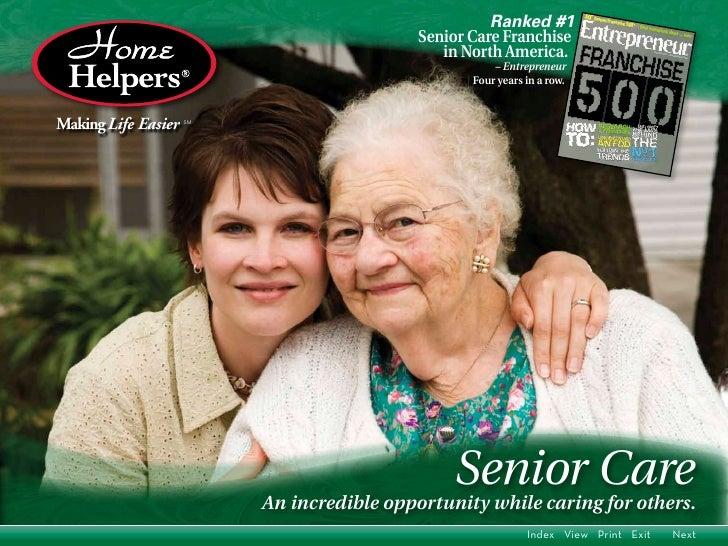 Ranked #1                                           Senior Care Franchise                                              in ...