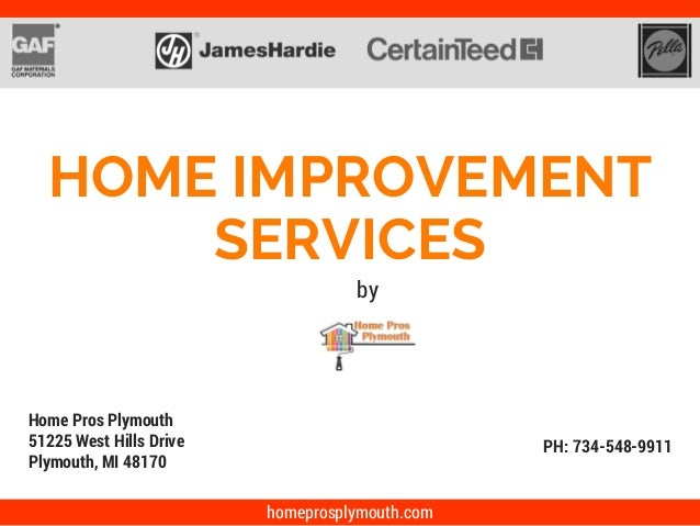 Home Improvement Company In Plymouth Michigan