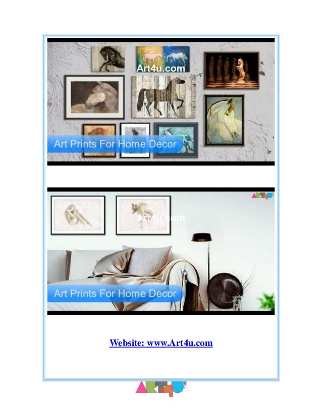 Home interior prints