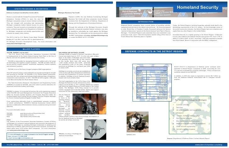 DREP-Homeland Security & Defense