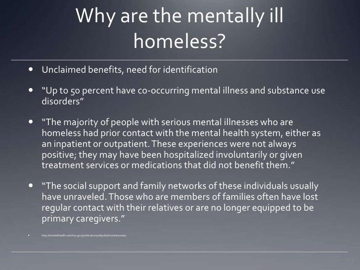 benefits for mental illness
