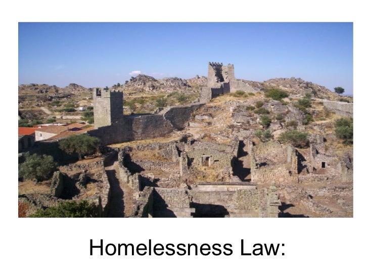 Homelessness Law: