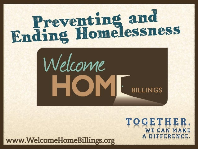Homelessness in Billings 2012:  Research and Trends