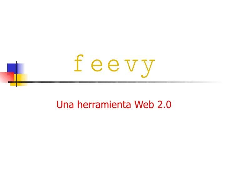 feevy Una herramienta Web 2.0