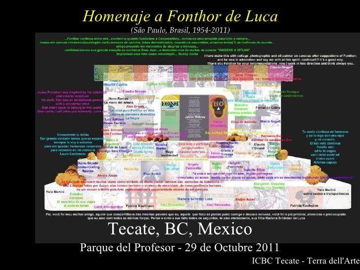 Homenaje a Fonthor 2