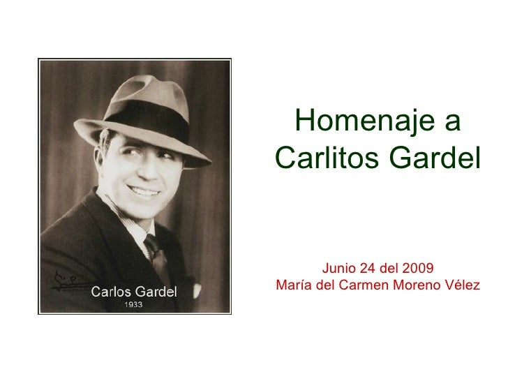 Homenaje A Gardel