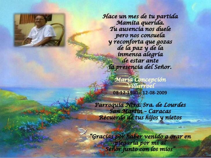 Poemas Para MI Madre Fallecida
