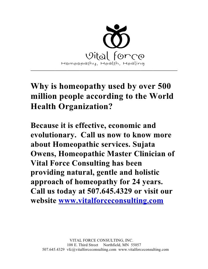 Why is homeopathy used by over 500 million people according to the World Health Organization?