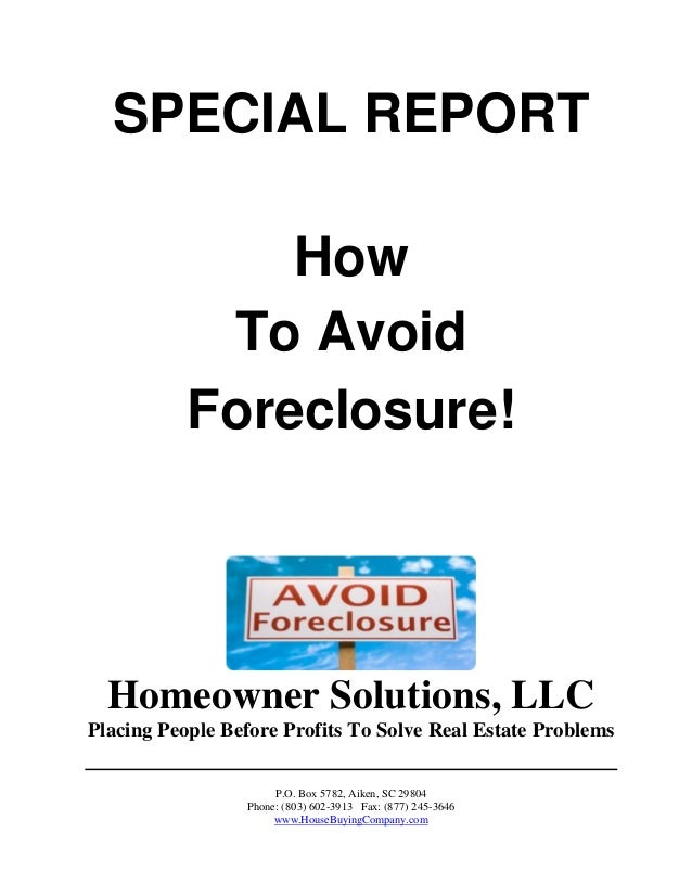 how to get a foreclosure house
