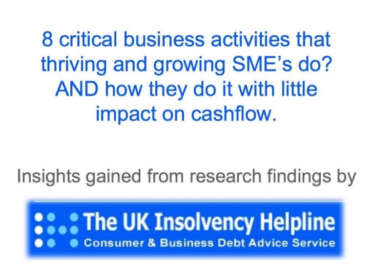 How to work on your business with little impact on cashflow