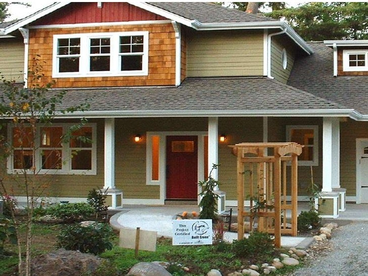 A sampling of sustainable green built homes designed and built by Apple Built Homes in Olympia Washington.