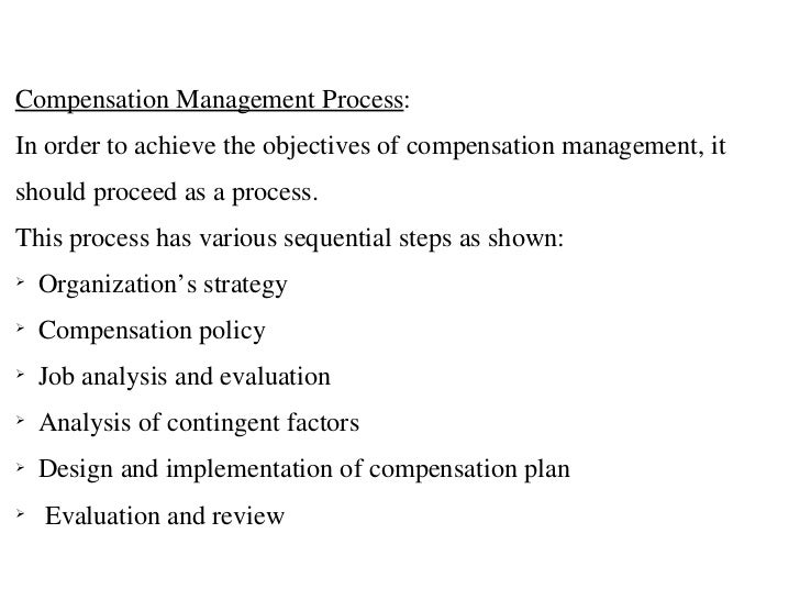 scope of study in compensation management Compensation studies  when our clients engage in a compensation study, we work closely with senior leadership to develop a compensation program tailored to meet .