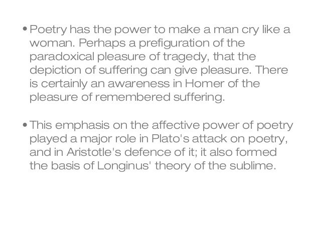 platos attack on poetry Scratch the surface of any attack on the popular arts and you will find plato's criticisms of poetry.