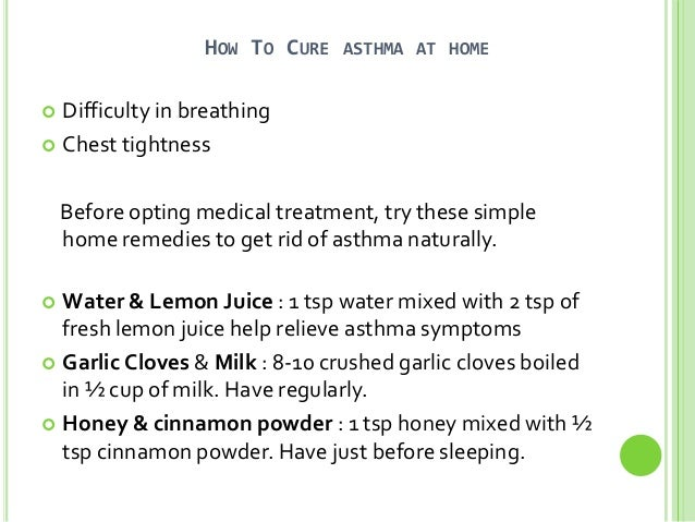 Can You Get Rid Of Asthma Naturally