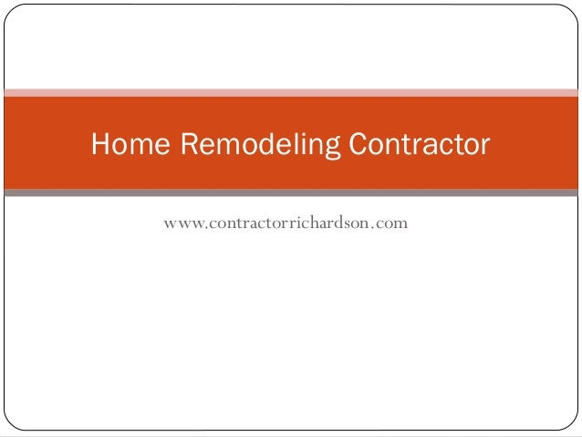 Find home remodeling contractor in san deigo - Contractor how to find one ...