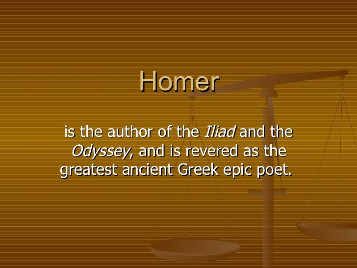 complexity of characters in homers epic iliad The iliad—a practical approach by  although length and complexity are hallmarks of the epic poem, the most important element is the hero  the iliad of homer.