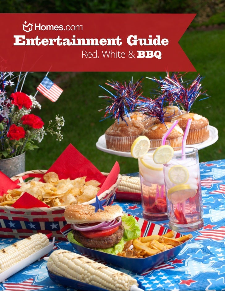 Entertainment Guide        Red, White & BBQ