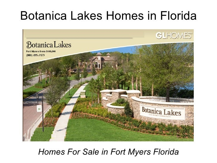 Botanica Lakes Homes in Florida Homes For Sale in Fort Myers Florida