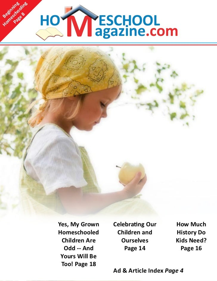 Homeschool magazine newest issue