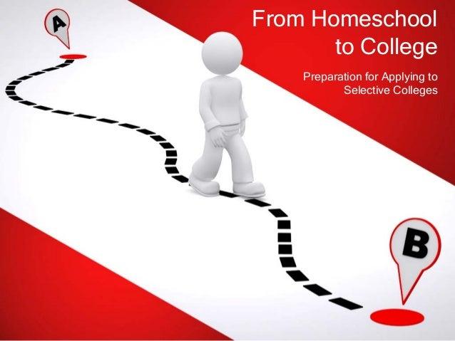 Homeschool to college presentation