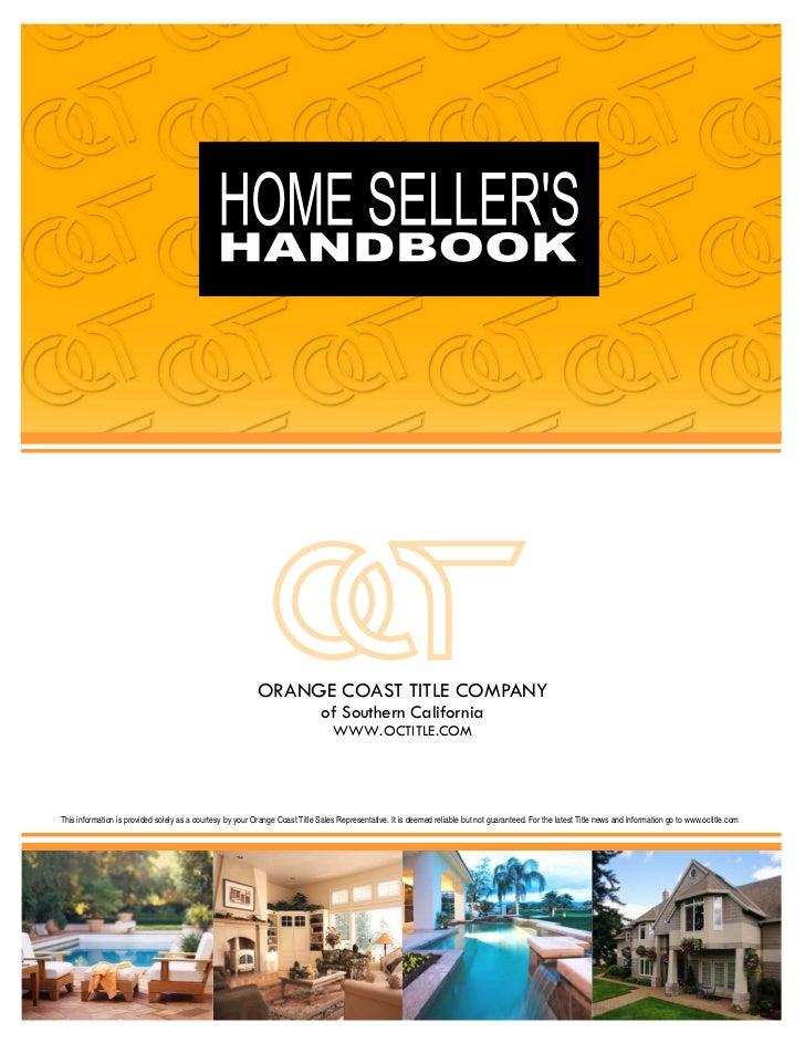 Home Sellers' Handbook