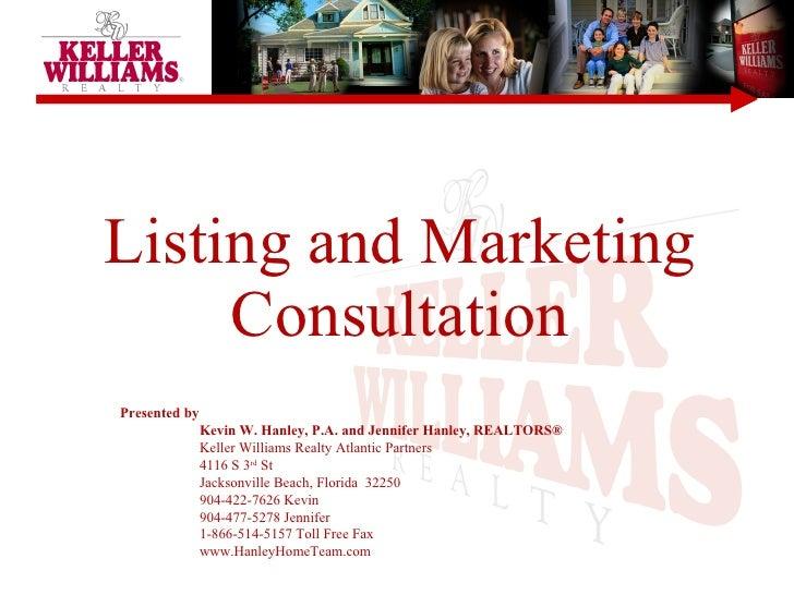Homeselling Proposal Kw June 09