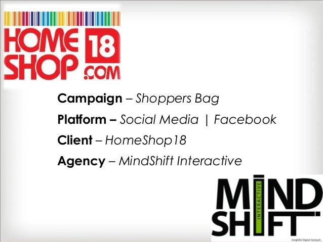 Social Media Case Study: A Shoppers Bag by HomeShop18