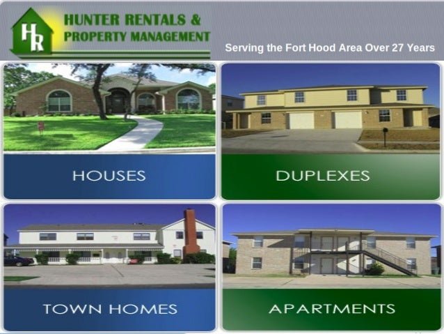 Homes in killeen texas   hunter rentals & proprty management