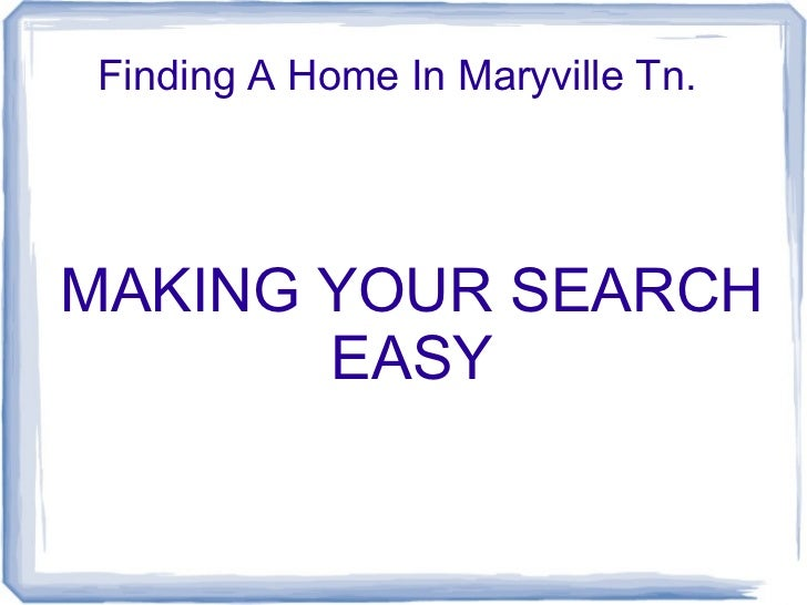 Homes in mary presentation open office