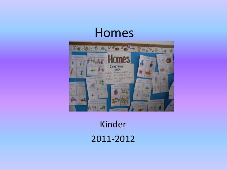 Homes  Kinder2011-2012
