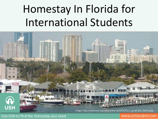 Homestay In Florida for International Students