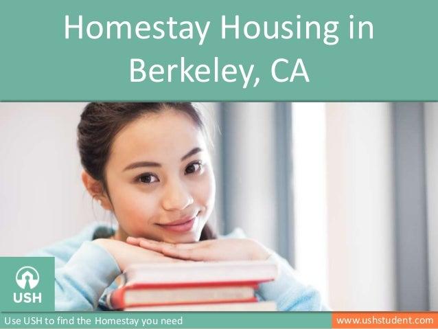 Homestay for International Students in Berkeley, CA