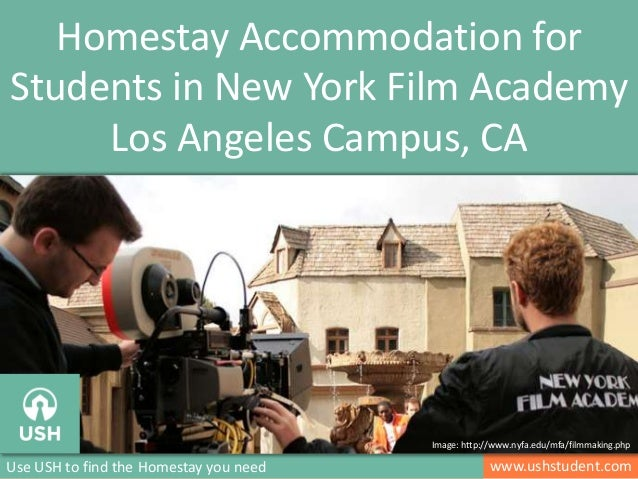 www.ushstudent.comUse USH to find the Homestay you need Homestay Accommodation for Students in New York Film Academy Los A...