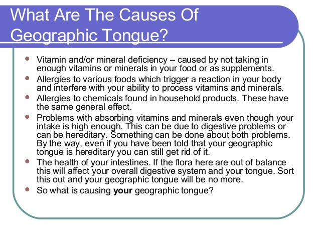 geographic tongue baby - photo #40