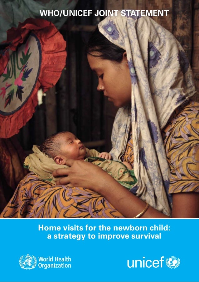 Home visits for the newborn child